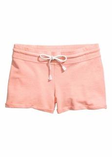 H&M Slub Jersey Shorts