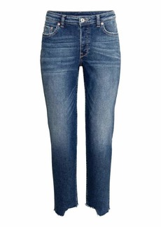 H&M Straight Cropped Jeans