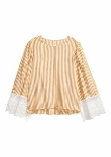 H&M H & M - Striped Blouse - Mustard yellow/white striped - Women