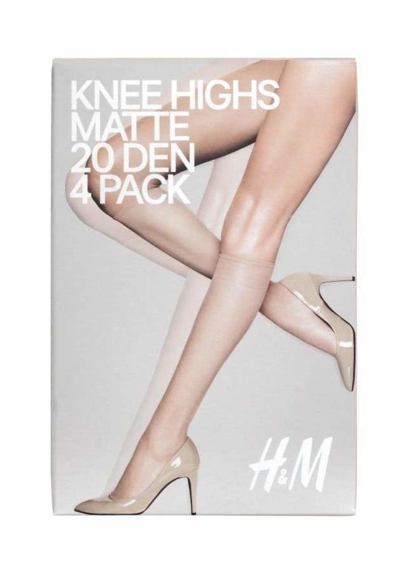 4e5b6dce541e4 H&M H & M - 4-pack Tights 20 Denier - Light amber - Women | Misc ...