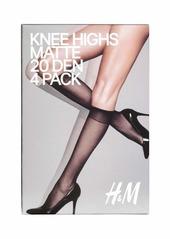 7de645485a25d H&M H & M - 4-pack Tights 20 Denier - Light amber - Women | Misc ...