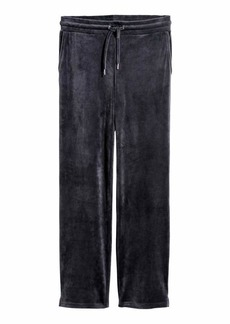 H&M H & M - Velour Joggers - Dark gray - Women