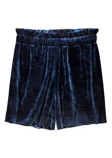 H&M Velour Shorts