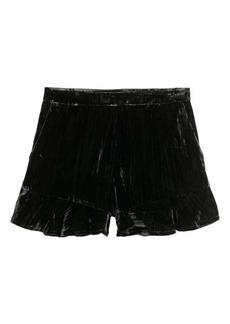 H&M Velvet Shorts