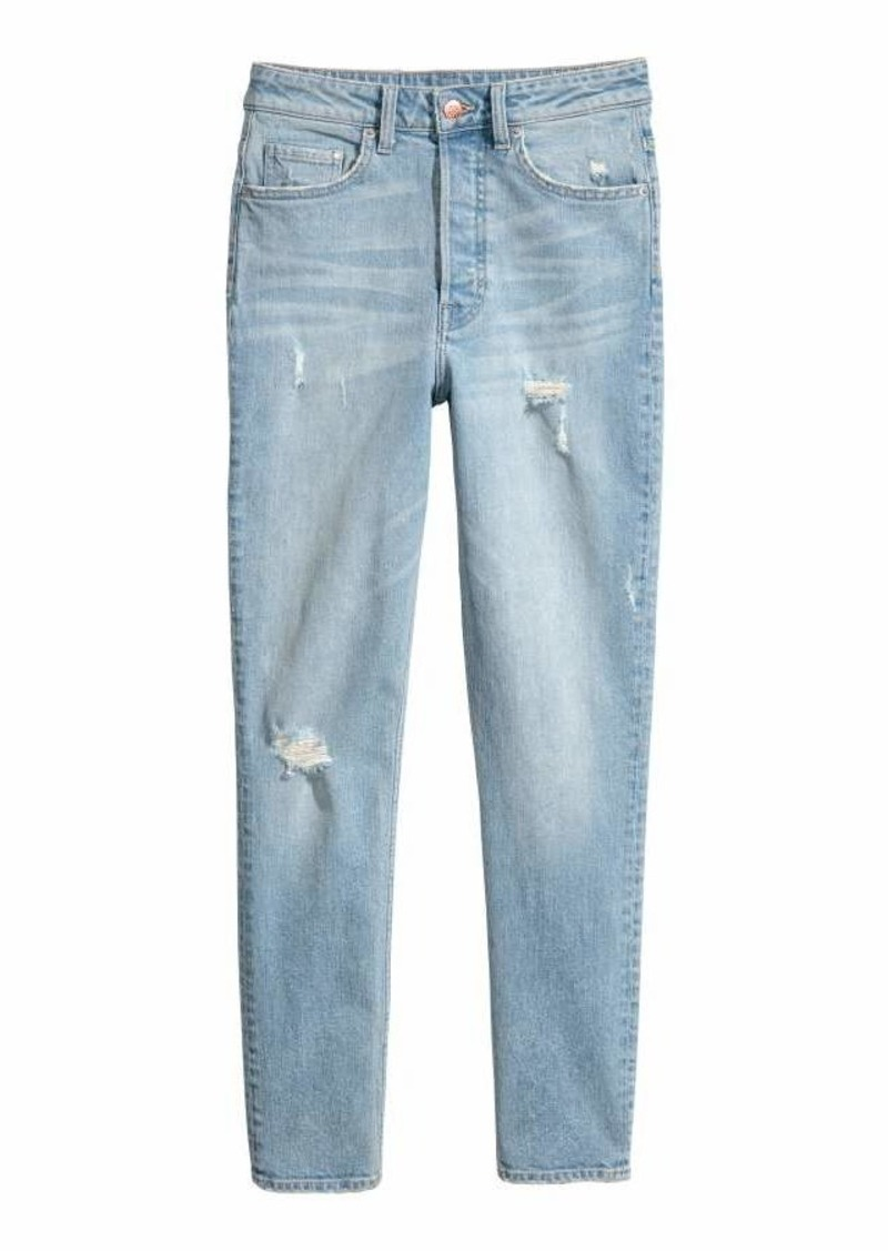 52755edb690d8 H&M H & M - Vintage Skinny High Jeans - Light denim blue - Women | Denim
