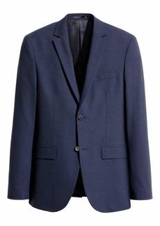 H&M H & M - Wool Blazer Regular fit - Dark blue - Men
