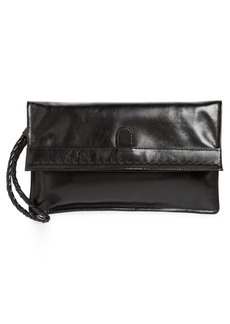 Hobo International Hobo Arbor Leather Wristlet Clutch