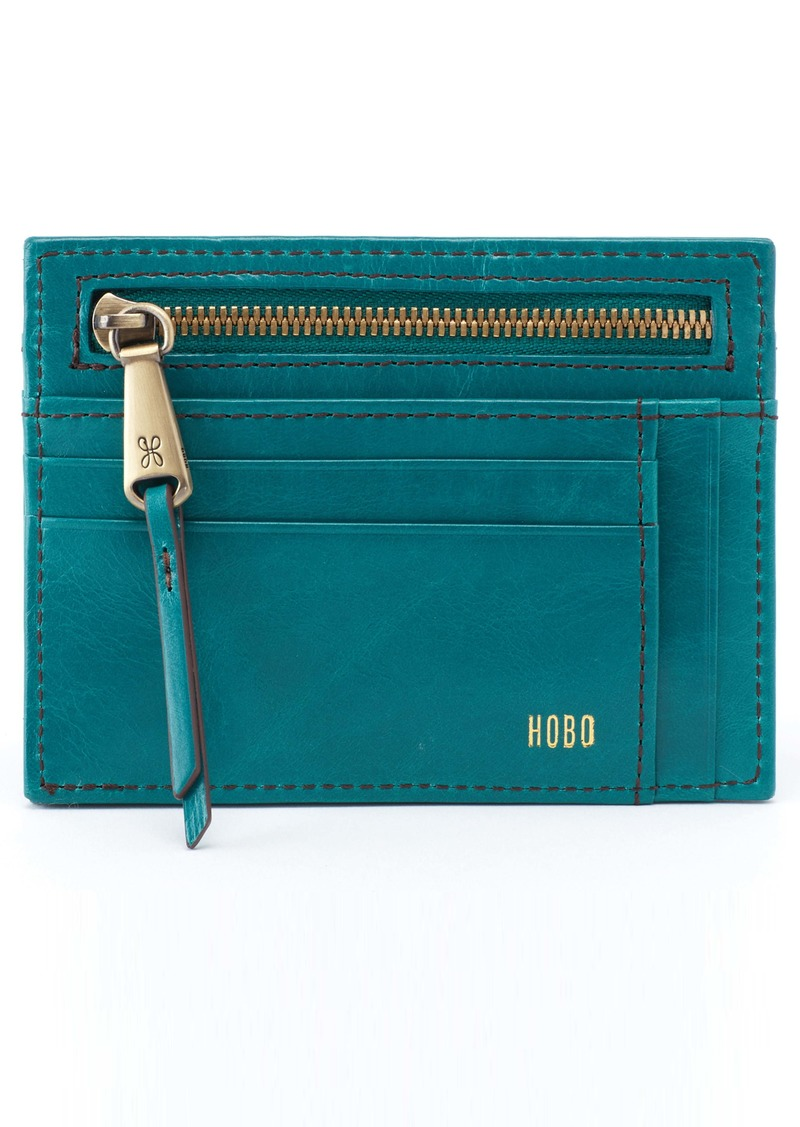 cheaper e1ed1 c701c Hobo Brink Leather Card Case