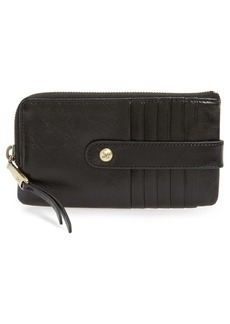 Hobo International Hobo Flash Calfskin Leather Card Case