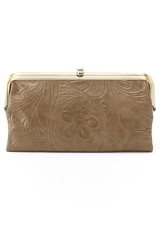 Hobo International Hobo Lauren Flower Embossed Leather Clutch Wallet