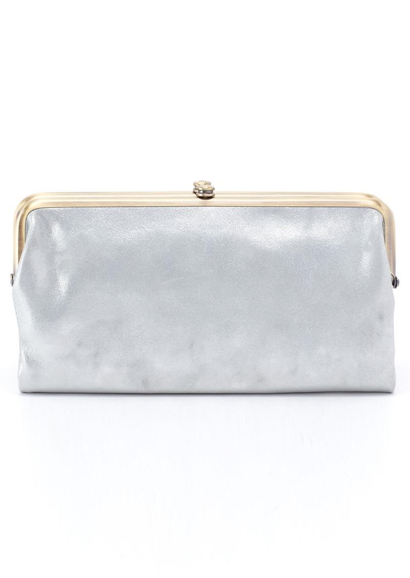 1a787a935 Hobo International Hobo 'Lauren' Leather Double Frame Clutch | Handbags