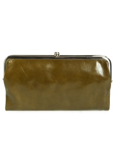 Hobo International Hobo 'Lauren' Leather Double Frame Clutch