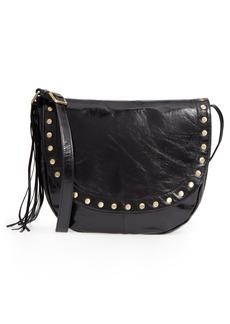 Hobo International Hobo Maverick Studded Leather Saddle Bag