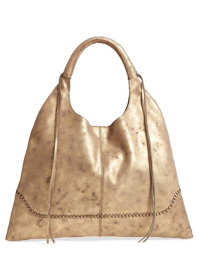 844976f8c2b2 Hobo International Hobo Nomad Metallic Leather Hobo Bag