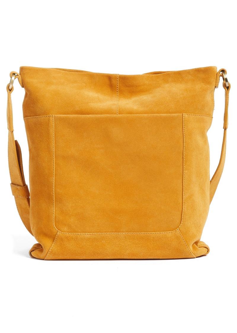 Hobo International Reghan Suede Crossbody Bag