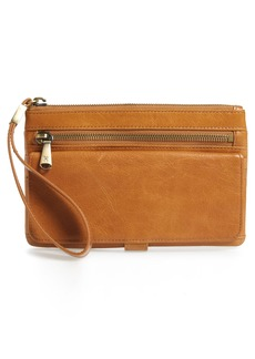 Hobo International Hobo Roam Leather Wristlet