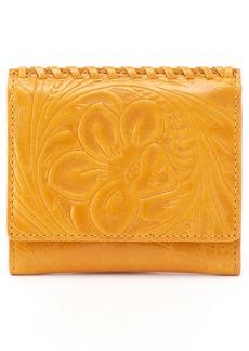 Hobo International Hobo Stitch Embossed Calfskin Leather Card Case
