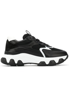 Hogan chunky contrast sole sneakers