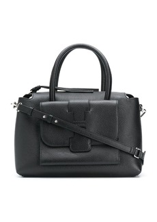 Hogan pebbled leather tote bag