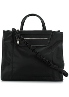 Hogan ruched-strap technical tote