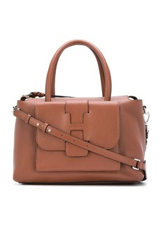 Hogan textured leather tote bag