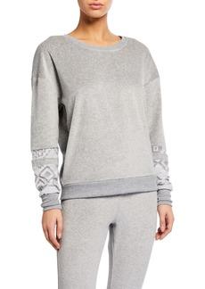 Honeydew Comfy Cutie Fair-Isle Sweatshirt