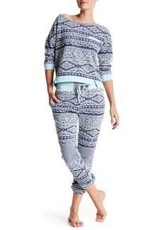 Honeydew Forget Me Not French Terry Lounge Pants