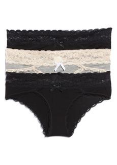 Honeydew Intimates 3-Pack Hipster Panties