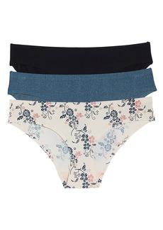 Honeydew Intimates Skinz 3-Pack Hipster Panties
