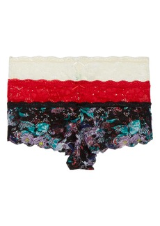 Honeydew Intimates 3-Pack Lace Hipster Panties