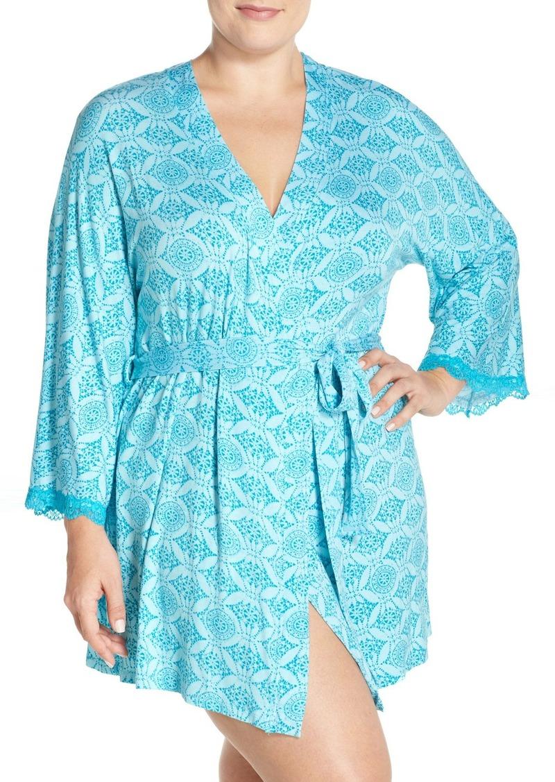 Honeydew Intimates 'All American' Robe (Plus Size)