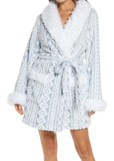Honeydew Intimates Bundle Up Short Fleece Robe