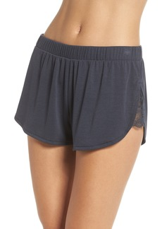 Honeydew Intimates Lace Trim Ribbed Pajama Shorts