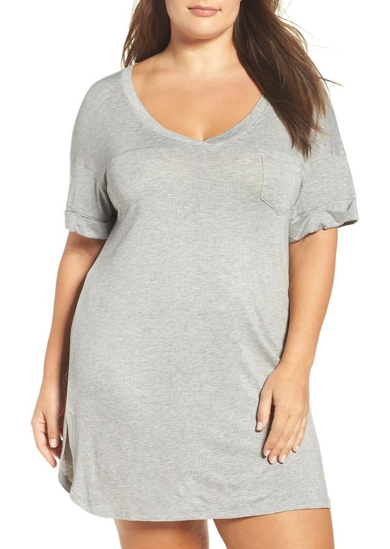1f0ef55889 Honeydew Honeydew Intimates Ribbed Sleep Shirt (Plus Size) (2 for ...