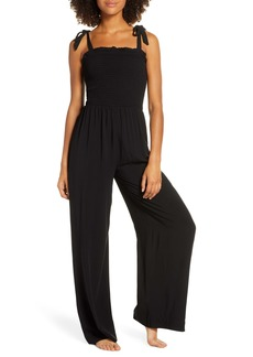 Honeydew Intimates Shore Thing Smocked Lounge Jumpsuit