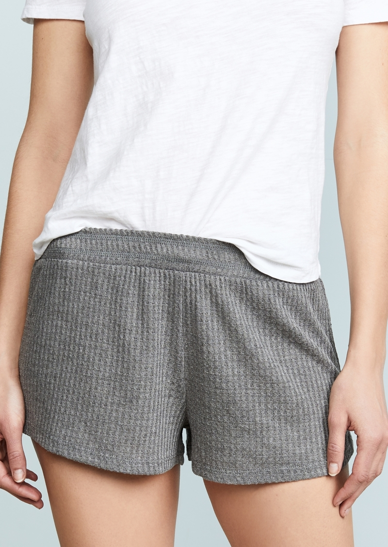 Honeydew Intimates Sneak Peek Waffle Knit Lounge Shorts