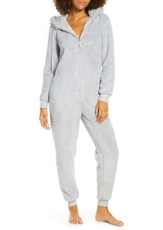 Honeydew Intimates Snowed In Zip Hooded Jumpsuit