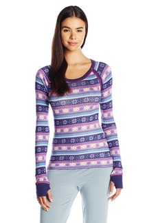 Honeydew Intimates Women's Raglan Button Shirt