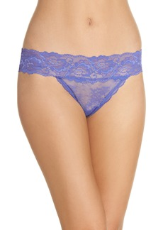 Honeydew Lace Thong