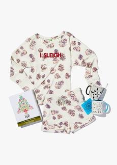 Honeydew Snooze Button I Sleigh Knit T-Shirt
