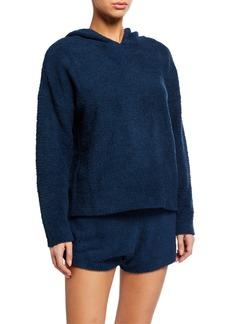 Honeydew Snow Angel Hooded Sweater