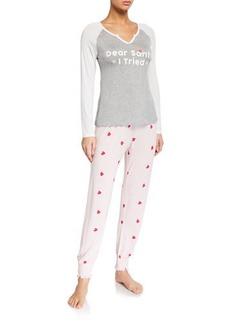 Honeydew Winter Breaker Pajama Set