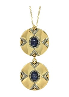 House of Harlow Dorelia Double Coin Necklace
