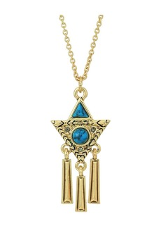 House of Harlow Durango Triangle Necklace