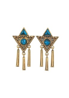 House of Harlow Durango Triangle Statement Earrings