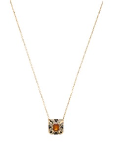 House of Harlow 1960 House of Harlow Art Deco Pendant Necklace