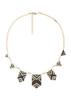House of Harlow 1960 House of Harlow Classic Caged Station Necklace