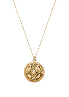 House of Harlow 1960 Phoebe Quilted Pendant Necklace