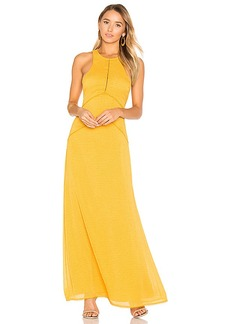 House of Harlow 1960 x REVOLVE Allegra Maxi Dress in Mustard. - size XS (also in S,L)