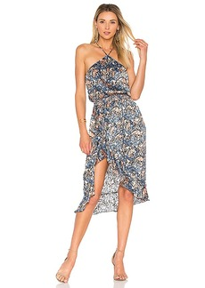 House of Harlow 1960 X REVOLVE Baye Midi in Blue. - size XL (also in S,XS,M,L)